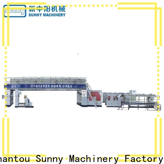 Sunny screw extrusion lamination machine supplier for laminating
