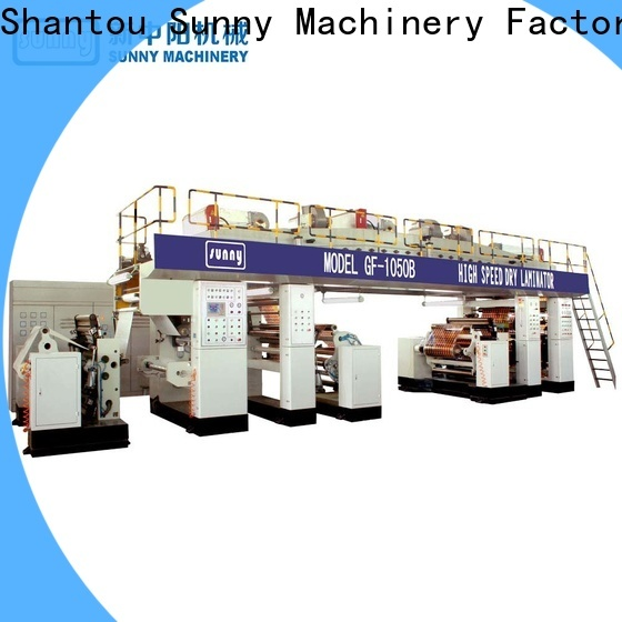 Sunny model extrusion lamination plant supplier for laminating