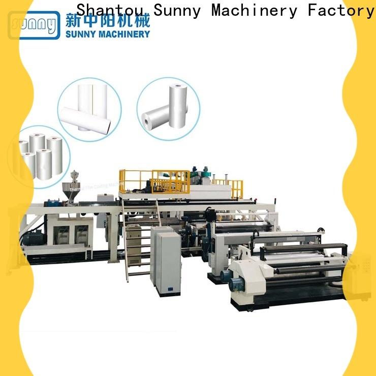 dual extrusion laminating machine photo wholesale for laminating