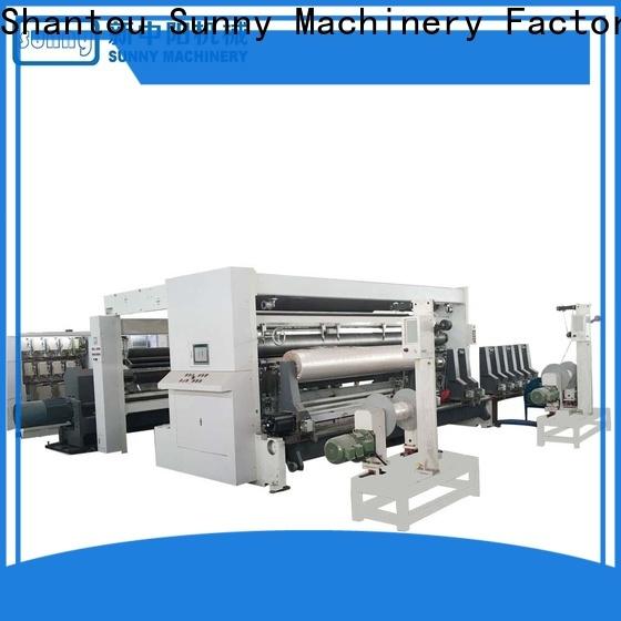 Sunny high quality rewinding machinery customized bulk production