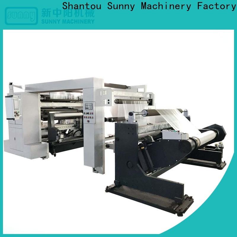 Sunny roll rewind slitting machines manufacturer bulk production
