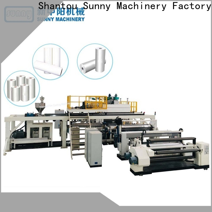 Sunny dual extruder lamination machine wholesale for factory