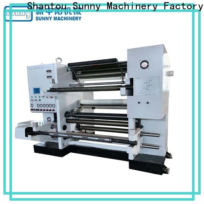 Sunny high speed rewind slitting machines customized bulk production