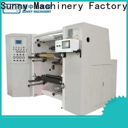 Sunny roll slitting and rewinding machine customized for production