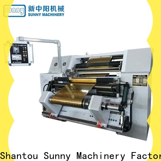Sunny quality rewinding machinery customized for production