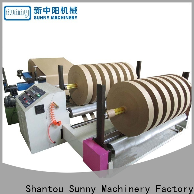 Sunny low cost slitting rewinding machine supplier for production