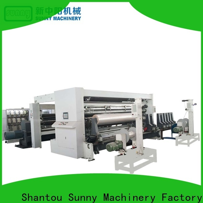 Sunny thermal rewinder slitter customized for production