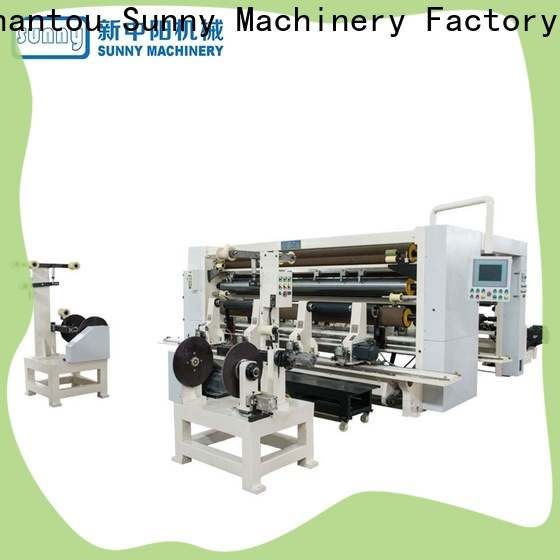 Sunny quality slitting and rewinding machine manufacturer for sale