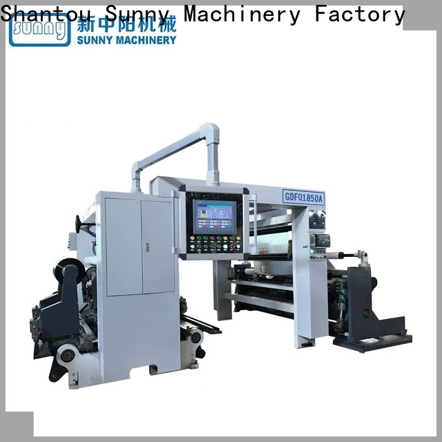 Sunny rewinder slitter machine gantry wholesale for production