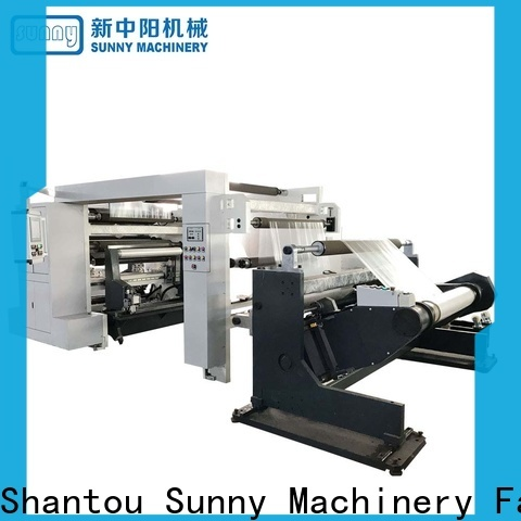 Sunny slitter rewinder thermal wholesale for production