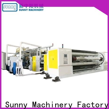 Sunny sanitary cast film extrusion machine supplier laminating