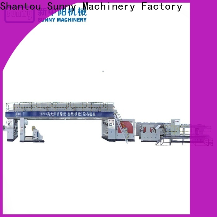 single extrusion coating lamination plant coater customized for laminating