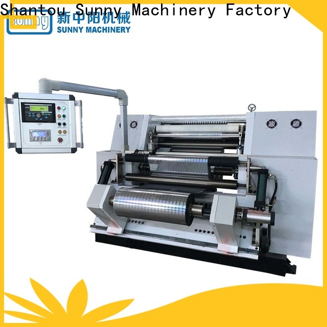 low cost slitting and rewinding machine roll manufacturer for factory