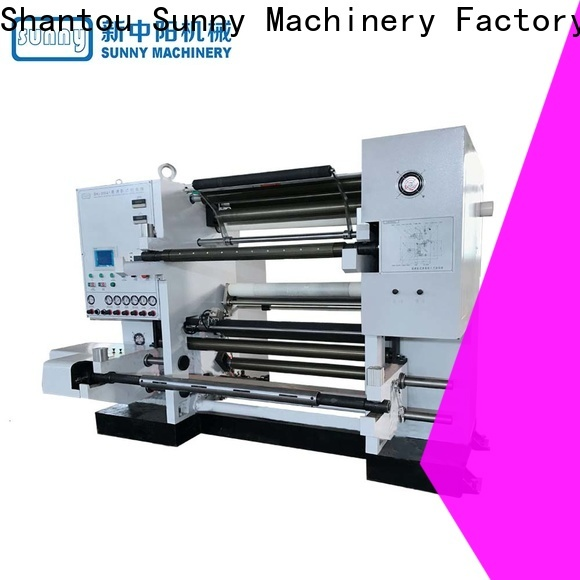 Sunny roll slitting machines manufacturer for sale