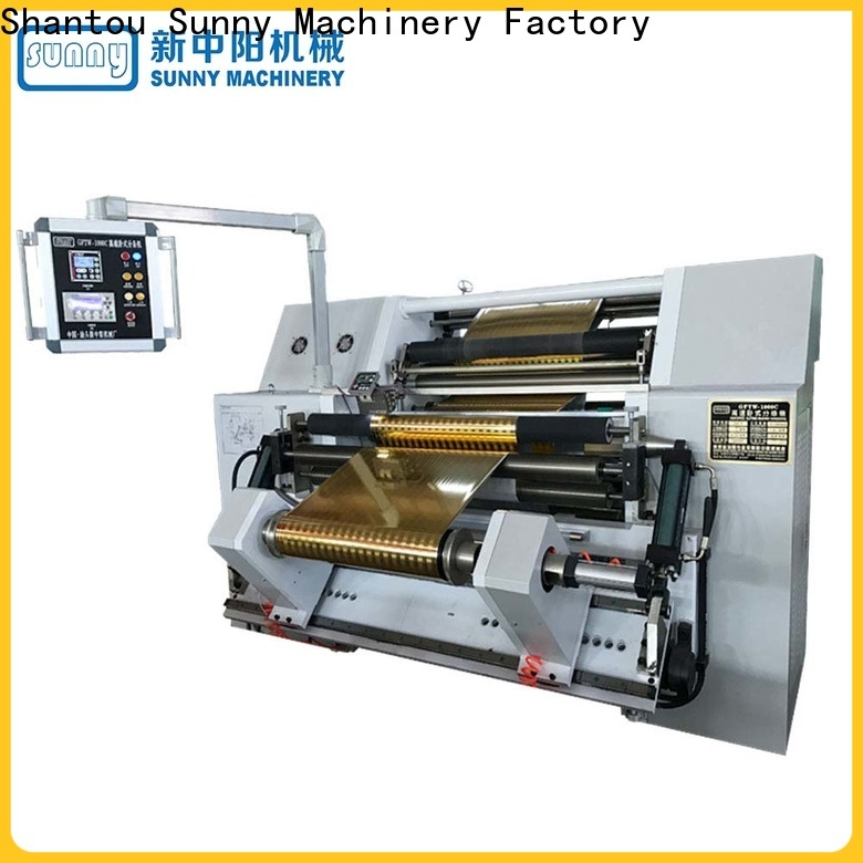 low cost slitting and rewinding machine line customized for production