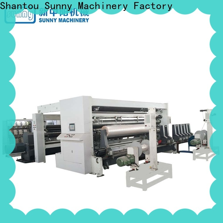 Sunny digital rewinder slitter machine manufacturer for factory