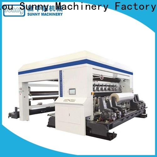 low cost slitting and rewinding machine line customized bulk production
