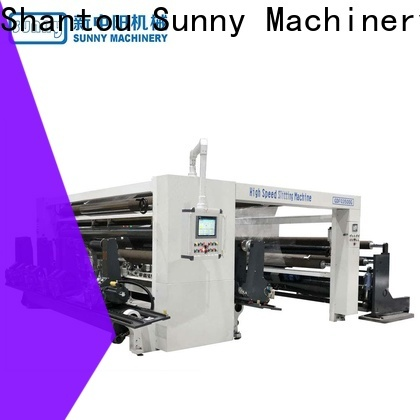 Sunny model slitting machines manufacturer at discount