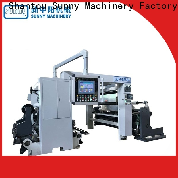 Sunny high speed slitting rewinding machine manufacturer for production