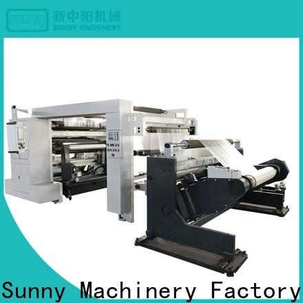 Sunny thermal rewinder slitter manufacturer for factory