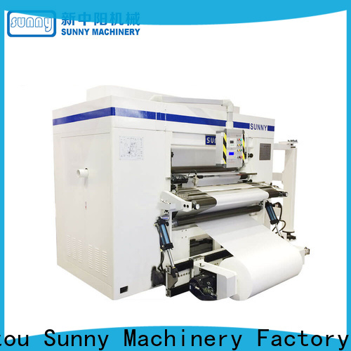 Sunny high speed slitter rewinder customized at discount