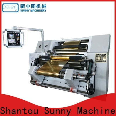 Sunny roll rewinding machinery wholesale bulk production