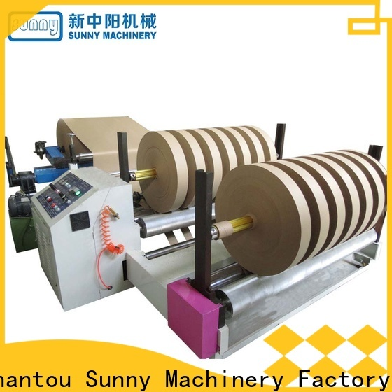 Sunny jumbo slitter rewinder customized bulk production