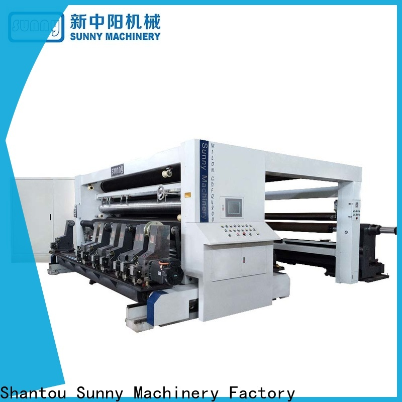 Sunny line slitting machines manufacturer for production