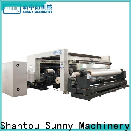 Sunny quality rewinder slitter customized at discount