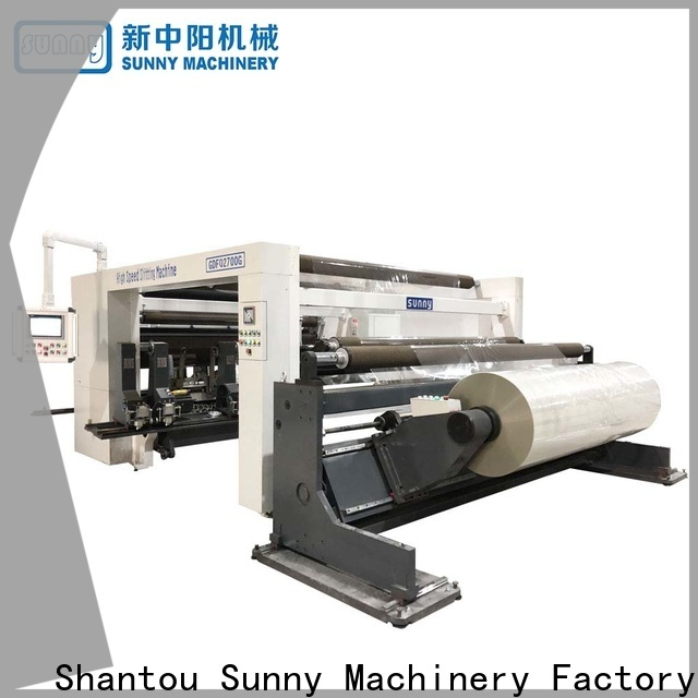 horizontal slitting and rewinding machine high speed wholesale for production