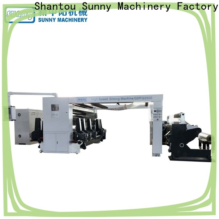 high quality rewinding machinery model supplier for production
