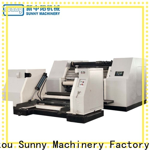 Sunny high quality slitting rewinding machine customized for sale