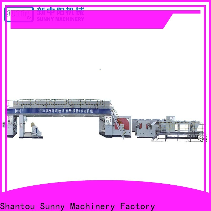 dual extrusion coating machine paper supplier for factory
