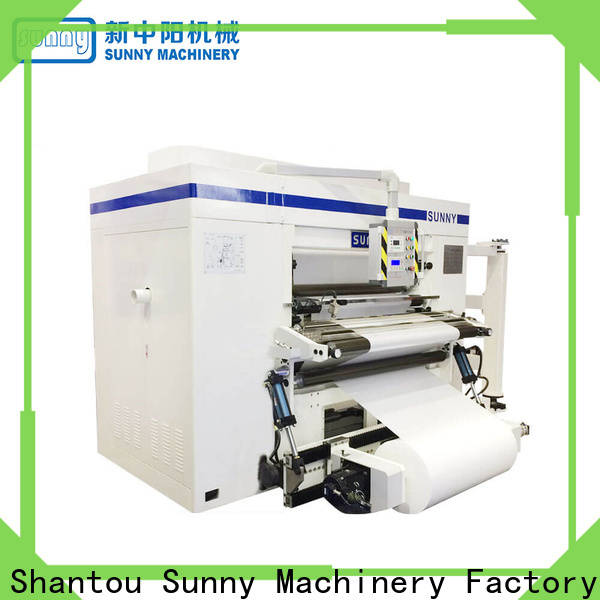 Sunny stations rewind slitting machines manufacturer for factory