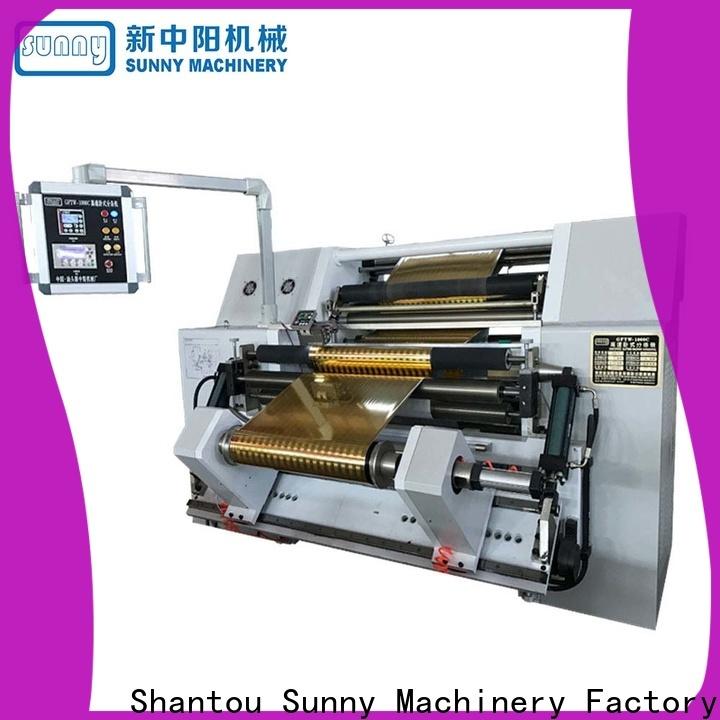 Sunny jumbo slitting and rewinding machine manufacturer at discount