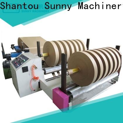 Sunny jumbo rewind slitting machines supplier bulk production