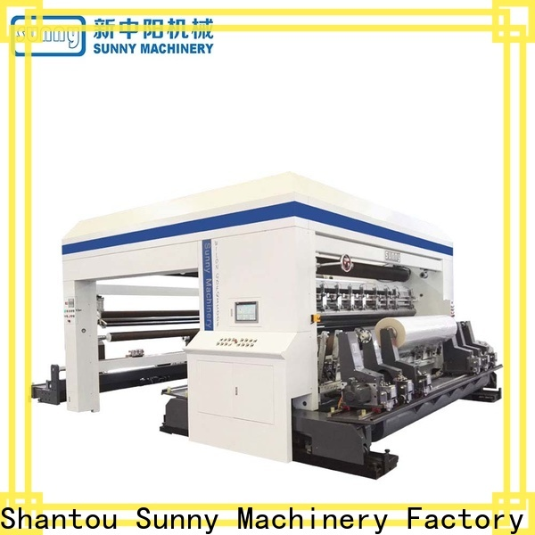 thermal slitter rewinder machine gantry wholesale for production
