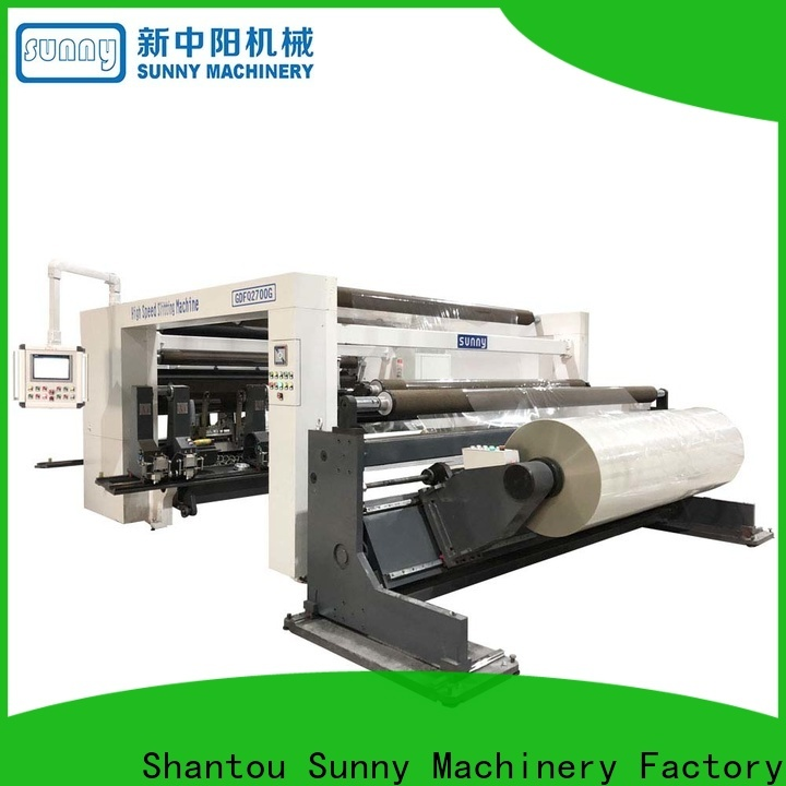 Sunny gantry slitting machines customized for factory
