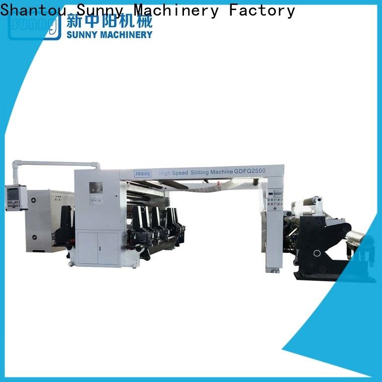jumbo rewind slitting machines gantry supplier bulk production