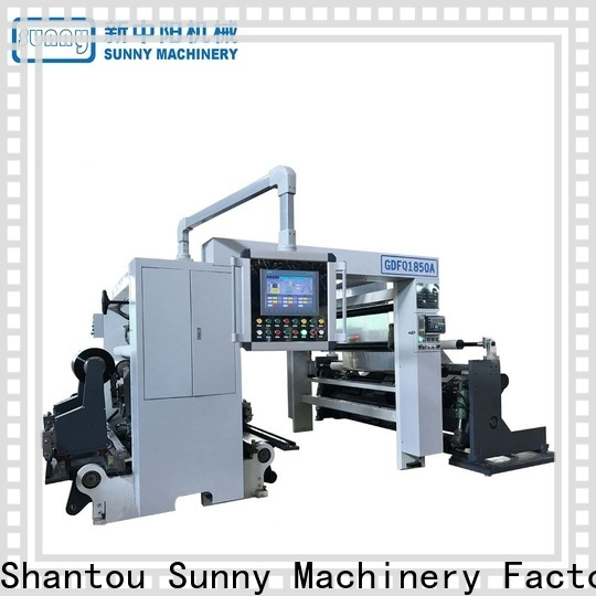 Sunny thermal slitting rewinding machine wholesale for factory