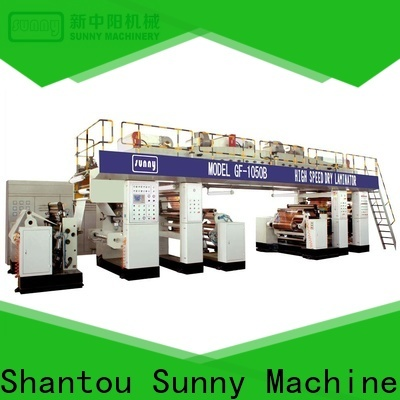 Sunny printing extrusion coating lamination supplier for protection film