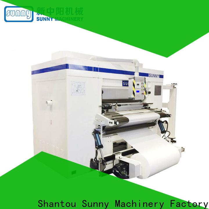 Sunny model rewinder slitter machine wholesale at discount