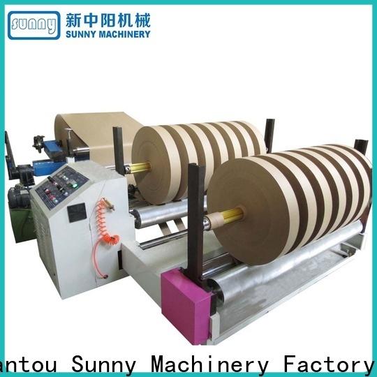 Sunny stations rewinder slitter machine manufacturer for factory