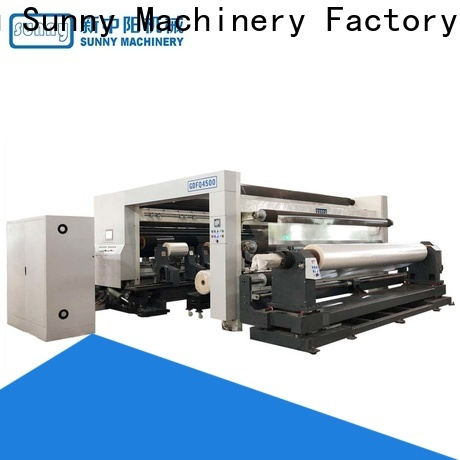 Sunny low cost rewinding machinery wholesale for sale