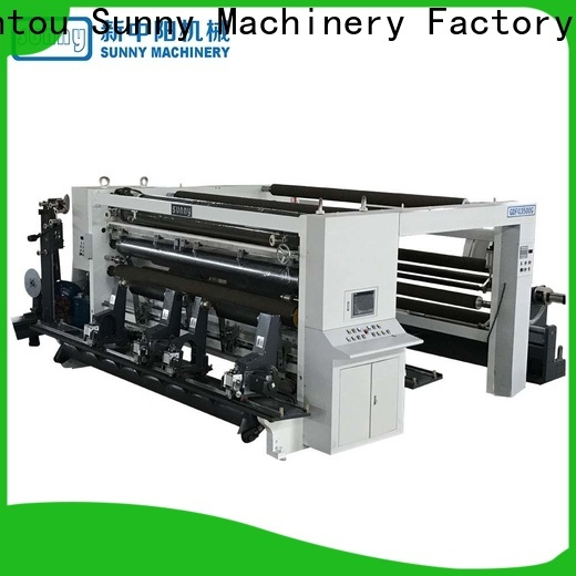 Sunny gantry rewind slitting machines supplier for production