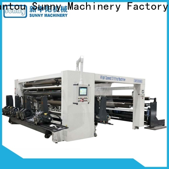 Sunny digital slitting and rewinding machine manufacturer for factory