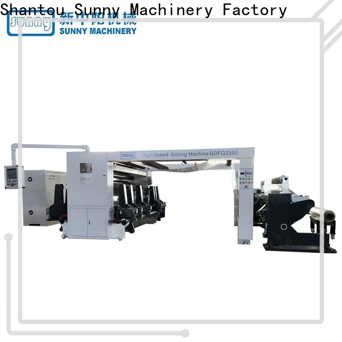 horizontal slitting machines high speed supplier at discount