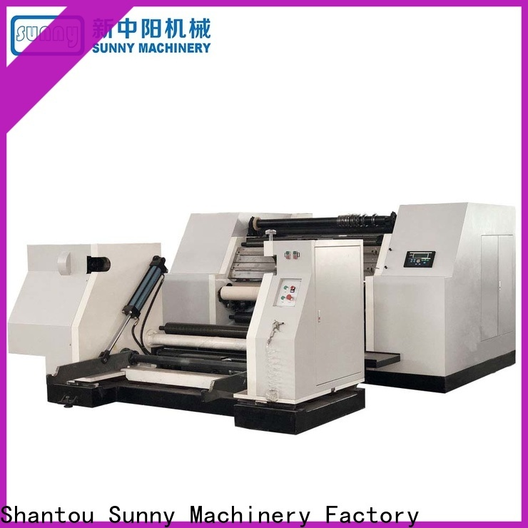 Sunny rewind slitting machines speed customized for sale