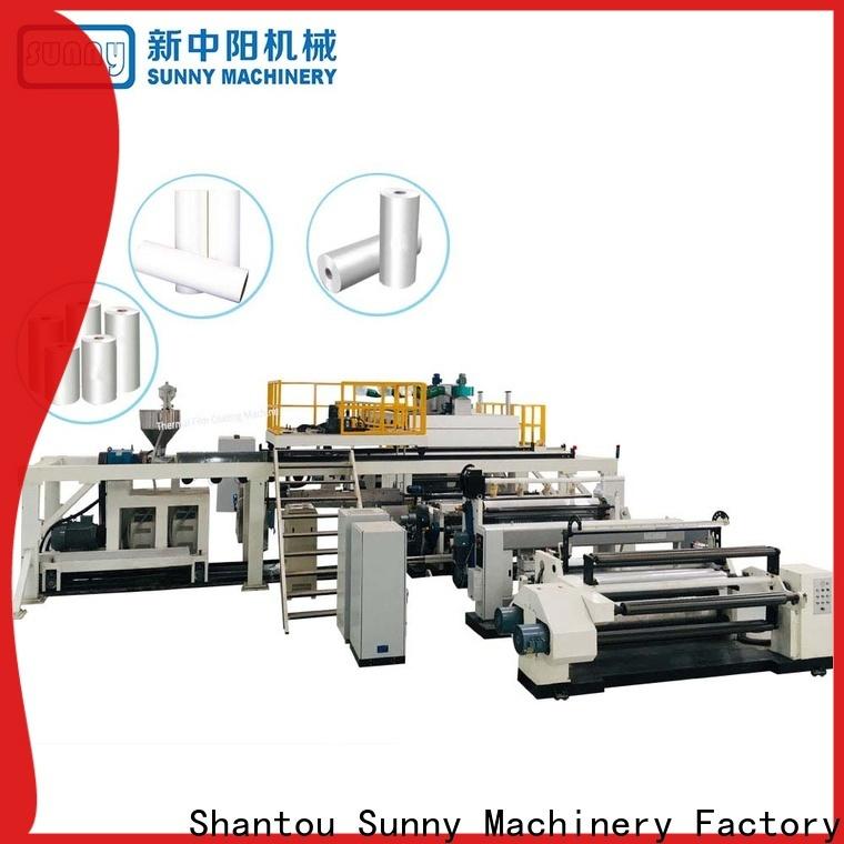 Sunny gf1050 extrusion coating lamination machine wholesale for protection film