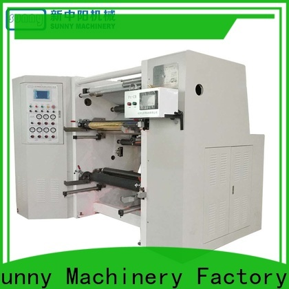 Sunny thermal rewinder slitter customized at discount